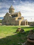 Средневековый православный собор. Грузия Мцхета