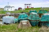 Fogo Island.... The cod fishing is so restricted due to overfishing... Shrimp and crab is the last harvest from what was a bountiful sea