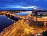 Петербург. Нева. Володарский мост.