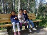 Les trois enfants: Wail, Maram, Darine