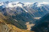По пути на ледник Аспиринг.Съёмка с вертолёта