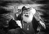 Гуляли по Копенгагену...встретили настоящего Санта Клауса из Англии..
