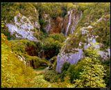 """*  * *Моим горячим желанием является то, чтобы райская красота этого края открылась всему миру, чтобы и другие народы могли наслаждаться, созерцая возвышенную красоту, и чтобы эта жемчужина Хорватии стала известна повсюду.Милка Тернина, 1898, выдающаяся хорватская актриса.* * * Хорватия, Национальный парк """"Плитвицкие озера"""", сентябрь 2013."""