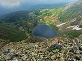 Радоновое озеро, Ивановский хребет
