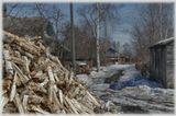 город Сокол Вологодской губернии,улица 4-ая Биржевая в День Космонавтики 2013 года