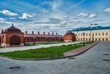 На территории Казанского кремля