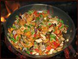 Просто грибы, на простой сковороде.