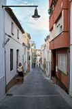 Не туристическая улочка Льорет-де-Мара, Испания