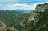 Вид с террасы Монастыря Монсеррат