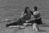 В один из лучших сентябрьских дней у озера Абрау, мы совместными усилиями, оставили в памяти эти счастливые мгновения...