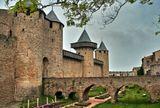 Крепость Каркасcон - средневековый архитектурный ансамбль, расположенный во французском городе Каркасcон.