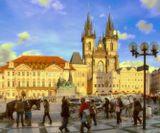 Староместская площадь (Старогородская площадь, чеш. Staroměstské náměstí) — старинная площадь Праги, расположенная в историческом центре города (Старе Место). Её площадь составляет около 15 тыс. кв. м. Площадь окружена городскими домами с фасадами различных архитектурных стилей: готического, ренессанса, барокко, рококо.