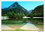 """Природы краса неисчерпана,И много столетий подрядЗдесь горы, как модницы в зеркало,В озерные воды глядят.Кранська Гора. Из серии """"Есть такая страна - Словения"""".Canon EOS 350D"""
