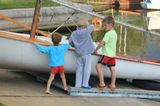 дети, яхты, лето, романтика