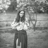 Ukraine, Kiev, Piogovo. Model - Alina Damian