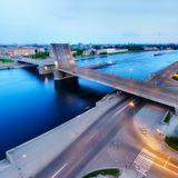 Володарский мост.Петербург.