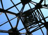 Лосинка. Башня ЛЭП, небо.