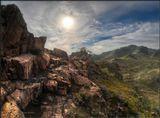 В древних горах Бурятии.