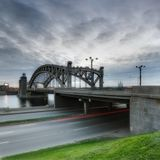 Большеохтинский мост.Петербург.