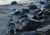 Берег Чёрного моря. Утриш. Сумерки.
