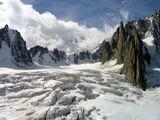 Le grand Capucin e ghiacc. del Mt Mallet