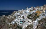 Ия, остров Санторини, Греция, июль 2014г.
