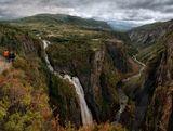Норвегия. Водопад Вёрингфоссен.