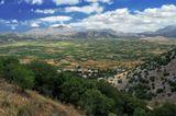 Вид с горы Дикти. Крит. Греция. Июль 2014