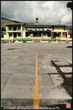 Да, именно так ОН и выглядит - это Линия Экватора в Эквадоре, недалеко от Кито.