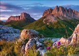 Россия, республика Адыгея, природный парк Большой Тхач, июнь 2013