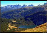 """*  *  *Озеро Близнец - самое большое в регионе """"7 Рильских озер"""", лежит на высоте 2243 м и достигает глубины 27.5 м*  *  *Болгария, горный массив Рила"""
