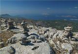 На вершине горы Атавирос. Греция. о.Родос