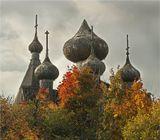 д.Щелейки, церковь Дмитрия Мироточивого (1783 г.), Прионежье, Ленинградская обл.