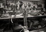 Сувенирная мастерская. Крит. Греция. Июль 2014