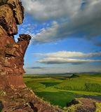 "Хакасия. Музей-заповедник ""Сундуки"".Вертикальная панорама (сборка MS ICE) Nikon D7000."