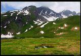 *  *  *Святой Бернард из Ментона, живший в 10 веке, считается покровителем альпинистов, горнолыжников и всех путешествующих в горах. Его именем названы перевалы Большой и Малый Сен-Бернар.*  *  *Грайские Альпы у перевала Малый Сен-Бернар на границе Италии и Франции