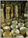 НЛМК, Ферросплавный цех, склад алюминиевой крупки.
