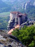 Один из шести восстановленных на деньги ЮНЕСКО  действующих монастырей Метеоры. Постройка - 12 -15 век. Северо-запад Греции.
