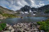 Алтай, Катунский хр., горное озеро над В.Мультинским