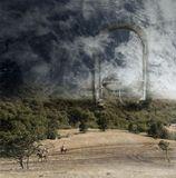 Работа сделана из моих фотографий отснятых в разных местах и разное время... Сводилось в PS CC..
