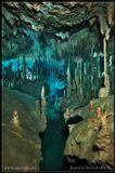 """Подводная пещера Dream Gate. Мексика, Юкатан. Свет: 6 синхронизированных вспышек До ледникового периода, пещера была """"сухой"""".Этим объясняется обилие сталактитов в пещере."""