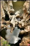 Южная Африка, Blyde River.Когда-то здесь мыли золото. На самом деле повезло только одному золотоискателю, тому, который купил этот участок.Золото давно исчезло, а эти красоты остались.
