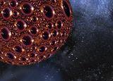 Межзвёздный корабль или вирус гриппа. Есть теория, что в пределе микромир смыкается с мегамиром... фотоарт странник