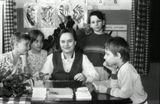 """скан ч/б плёнки, 1990 год, д/сад, класс """"нулевичков""""ф/а ФЭД-3"""
