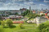 Lublin er den storste byen aust i Polen. mai 2015