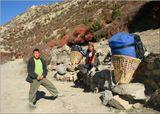Шагая по высокогорной тропе, мы стонали под тяжестью 20-килограммовых рюкзаков и просили наших носильщиков почаще останавливаться на отдых. Те неохотно соглашались и, сниходительно поглядывая на слабаков, легко  сбрасывали со своих неуставших плеч неподъемные корзины с нашими продуктами и палатками.