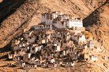 Буддийский монастырь в Ладакхе, индийский Тибет.