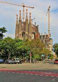 Барселона. Собор Святого Семейства