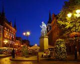 """Торунь, Польша. Николай Коперник, родившийся в этом городе. """"Привел в движение Землю,остановил Солнце и небо"""""""