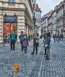 Пусть это будет всего лишь рисунок, а не реальная оккупация Европы....Прага, осень 2015 года